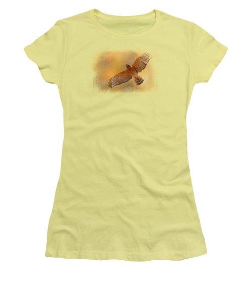 Raptor's Afternoon Flight Women's T-Shirt (Junior Cut)