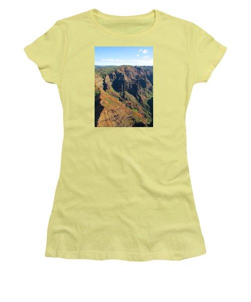 Razor's Edge Women's T-Shirt (Junior Cut) by Brenda Pressnall
