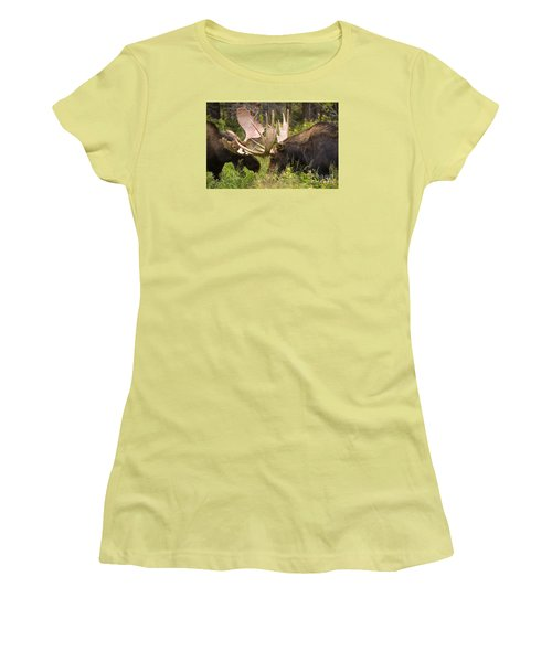 Women's T-Shirt (Junior Cut) featuring the photograph Reach Advantage by Aaron Whittemore