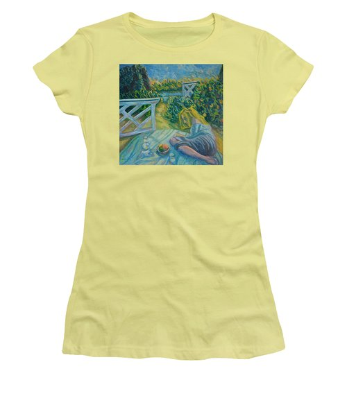 Reading Women's T-Shirt (Athletic Fit)