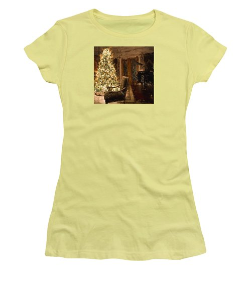Ready For Christmas Women's T-Shirt (Junior Cut) by Cathy Jourdan
