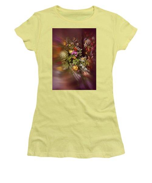 Floral Arrangement No. 1 Women's T-Shirt (Junior Cut) by Richard Cummings