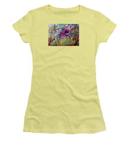 Reasons I Love You  Women's T-Shirt (Junior Cut) by Judith Desrosiers
