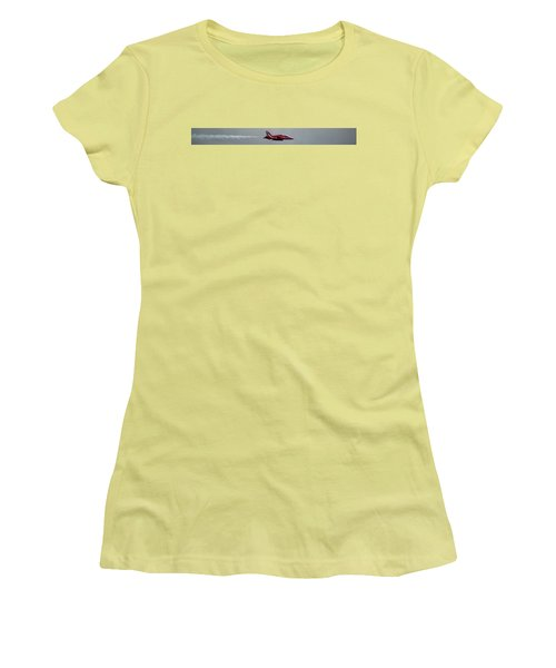 Red Arrow Straight - Teesside Airshow 2016 Women's T-Shirt (Athletic Fit)