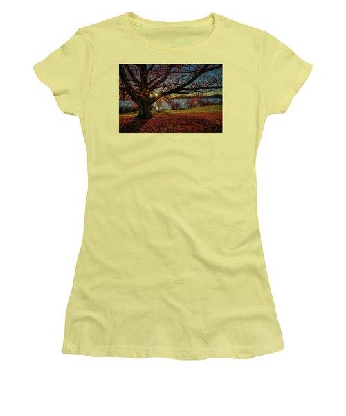 Red Carpet Women's T-Shirt (Junior Cut) by Jeffrey Friedkin
