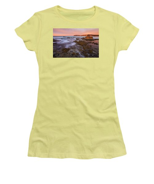 Red Dawning Women's T-Shirt (Athletic Fit)
