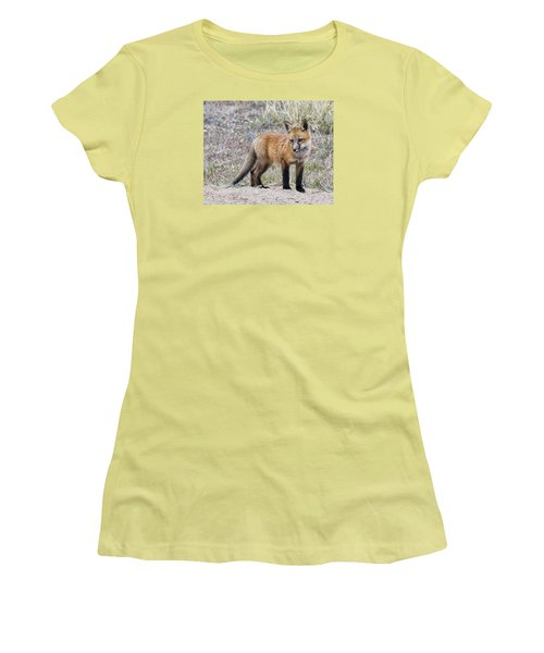 Red Fox Kit Women's T-Shirt (Athletic Fit)
