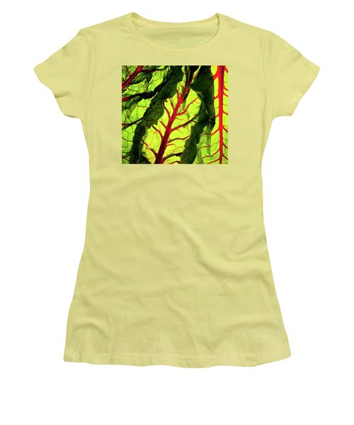 Red River Women's T-Shirt (Junior Cut) by Bobby Villapando