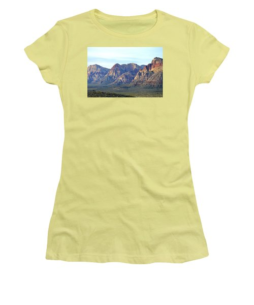 Women's T-Shirt (Junior Cut) featuring the photograph Red Rock Canyon - Scale by Glenn McCarthy Art and Photography