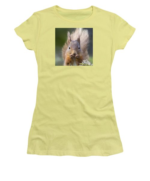 Red Squirrel - Scottish Highlands #28 Women's T-Shirt (Athletic Fit)
