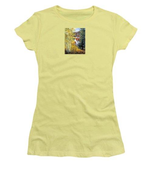 Redstone Inn Women's T-Shirt (Athletic Fit)