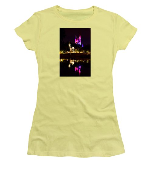 Reflecting Dreams Women's T-Shirt (Athletic Fit)