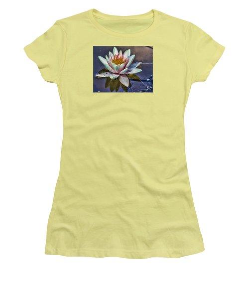 Reflecting Petals Women's T-Shirt (Junior Cut) by Steven Parker