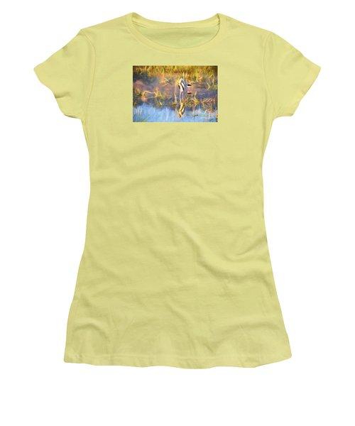 Reflection Women's T-Shirt (Junior Cut) by Pravine Chester