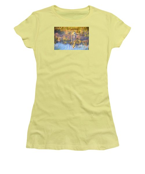 Reflection Women's T-Shirt (Athletic Fit)