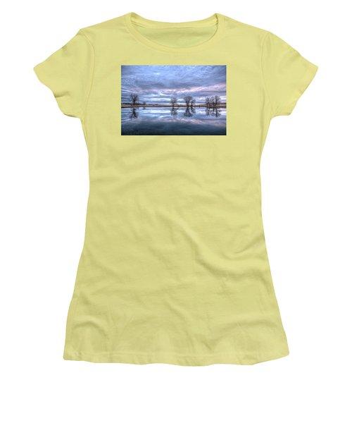 Reflections Women's T-Shirt (Junior Cut) by Fiskr Larsen