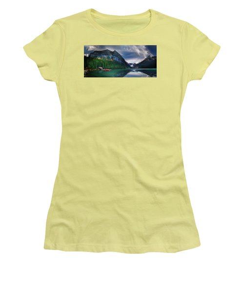 Women's T-Shirt (Junior Cut) featuring the photograph Reflections Of by John Poon