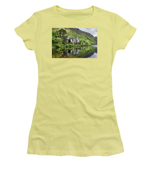 Reflections Of Kylemore Abbey Women's T-Shirt (Athletic Fit)