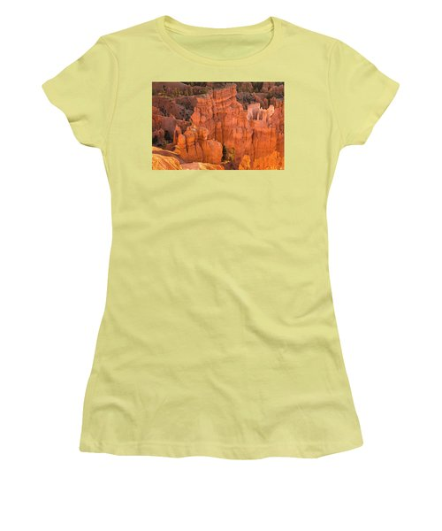 Reflections Of Morning Light Women's T-Shirt (Junior Cut) by Angelo Marcialis