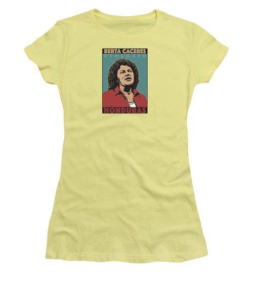 Remember Berta Caceres Women's T-Shirt (Athletic Fit)