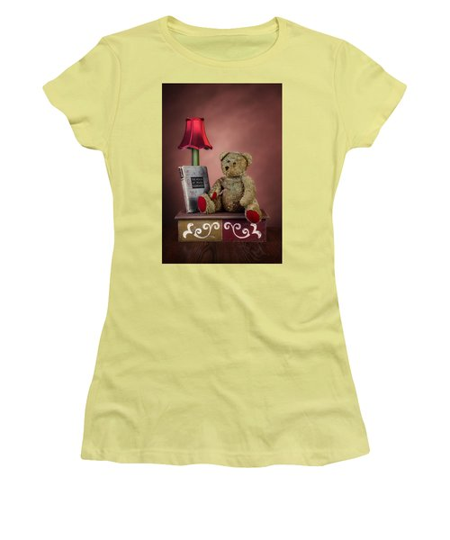 Women's T-Shirt (Junior Cut) featuring the photograph Required Reading by Tom Mc Nemar
