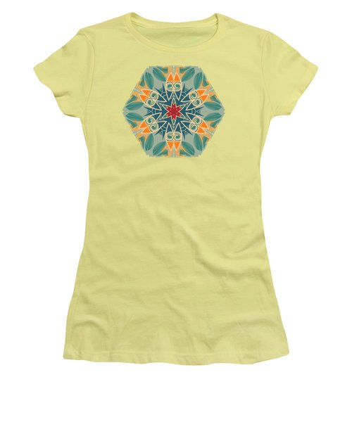 Retro Surfboard Woodcut Women's T-Shirt (Athletic Fit)
