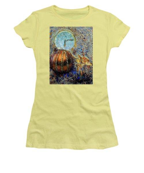 Revelation Women's T-Shirt (Junior Cut) by Gail Kirtz