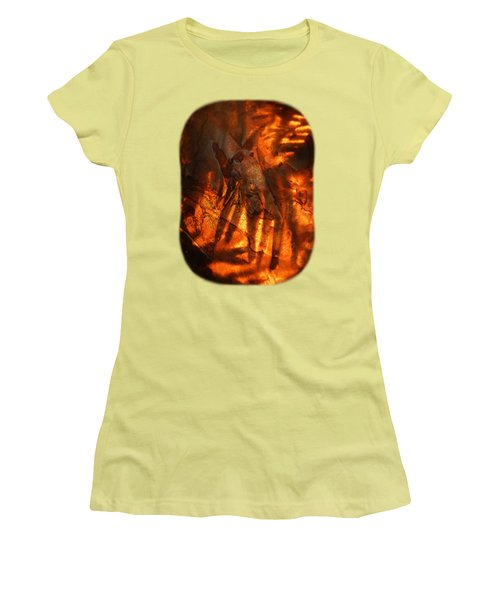 Women's T-Shirt (Junior Cut) featuring the photograph Revelation by Sami Tiainen