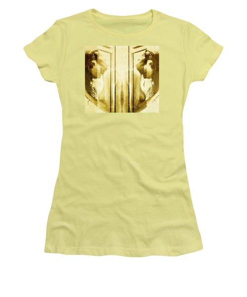 Reversed Mirror Women's T-Shirt (Junior Cut) by Andrea Barbieri