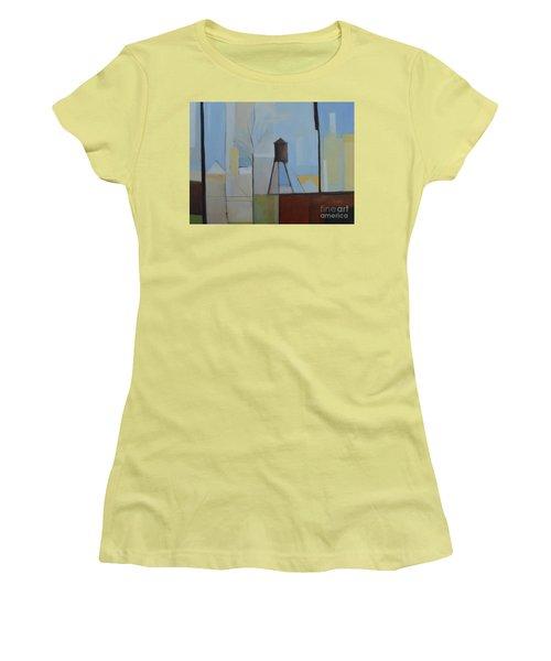 Ridgefield Women's T-Shirt (Junior Cut) by Ron Erickson
