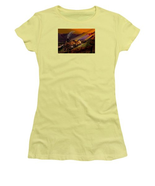 Rio Grande Early Morning Gold Women's T-Shirt (Junior Cut) by J Griff Griffin