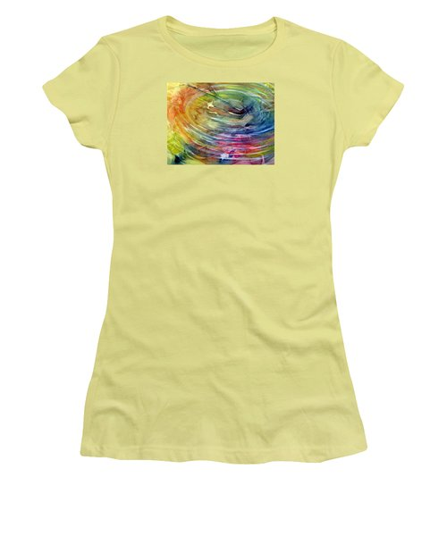 Ripples Women's T-Shirt (Junior Cut) by Allison Ashton