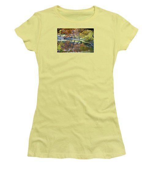 Ripples In An Autumn Lake Women's T-Shirt (Athletic Fit)