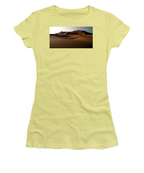 Ripples In The Sand Women's T-Shirt (Junior Cut) by Ralph A  Ledergerber-Photography