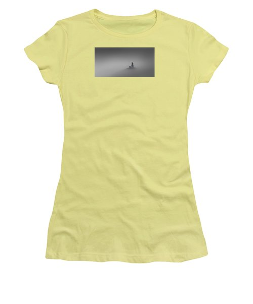 Rise Above Women's T-Shirt (Junior Cut) by Peter Scott