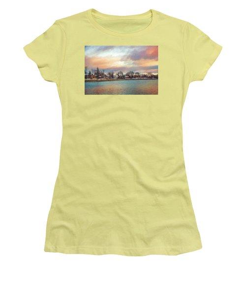 River Dream Women's T-Shirt (Junior Cut) by Celso Bressan