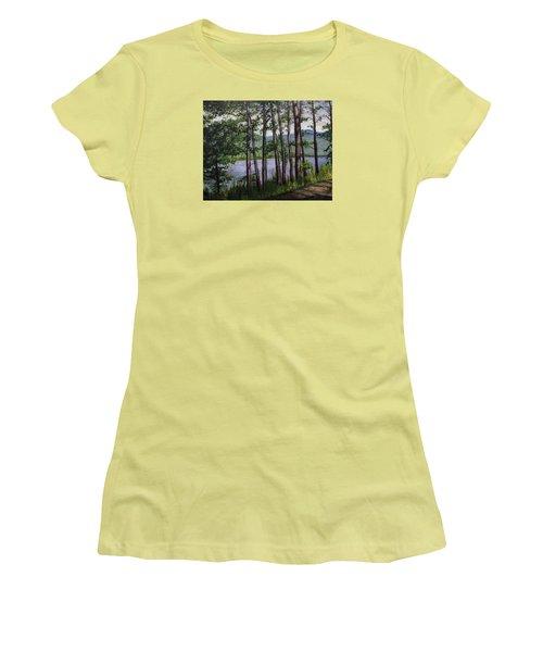 River Road Women's T-Shirt (Athletic Fit)