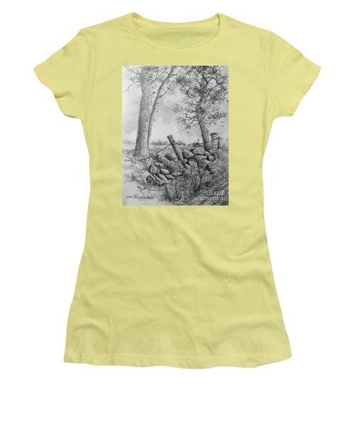 Road Home Women's T-Shirt (Junior Cut) by Jim Hubbard