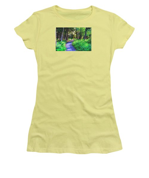 Road Less Traveled Women's T-Shirt (Athletic Fit)