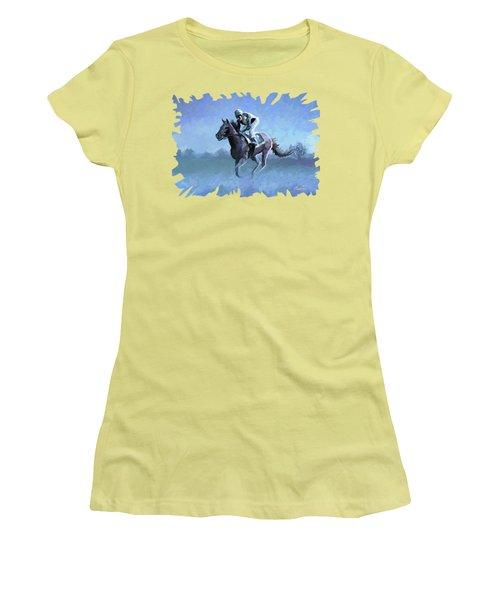 Road Test Women's T-Shirt (Junior Cut) by Anthony Mwangi