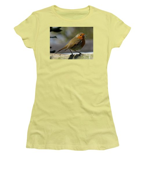 Robin3 Women's T-Shirt (Athletic Fit)