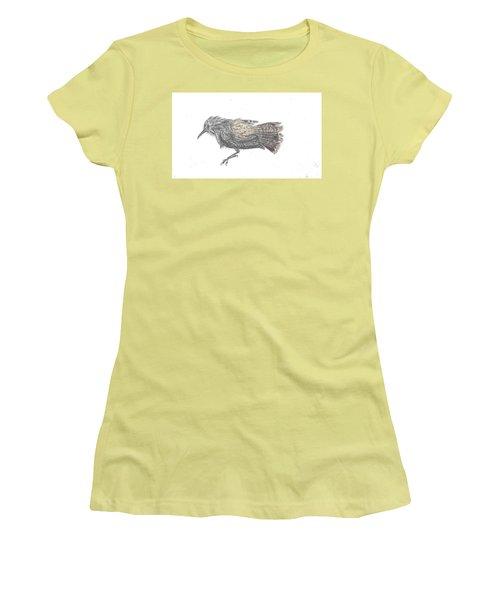 Rock Wren Women's T-Shirt (Athletic Fit)