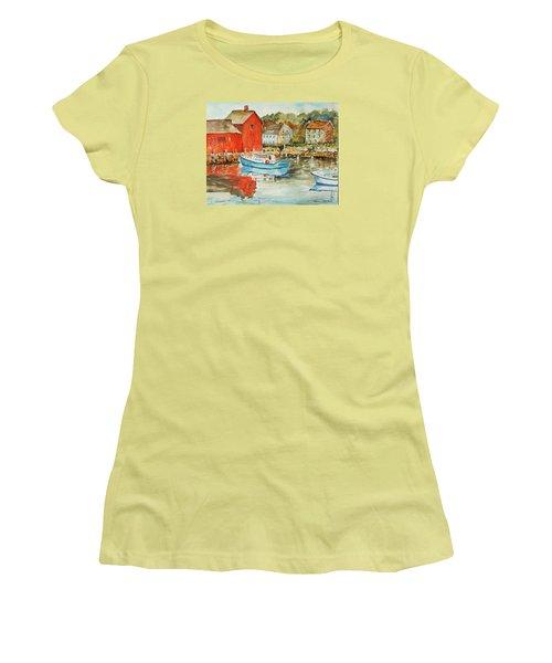 Rockport Women's T-Shirt (Junior Cut) by P Maure Bausch