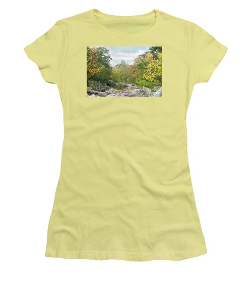 Rocky Creek Shut-ins Women's T-Shirt (Junior Cut)