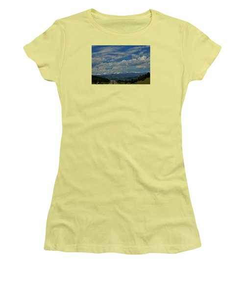 Colorado Rocky Mountain High Women's T-Shirt (Athletic Fit)