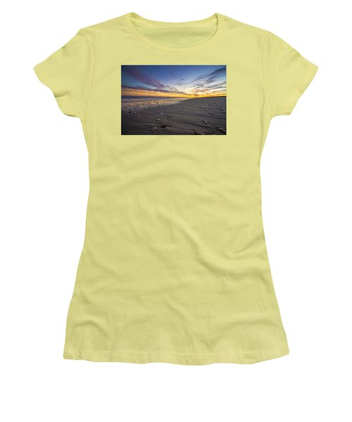 Rocky Roger's Beach Sunset Women's T-Shirt (Athletic Fit)
