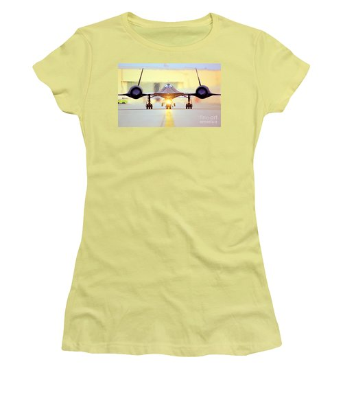 Roger That - Sr71 Jet Women's T-Shirt (Athletic Fit)