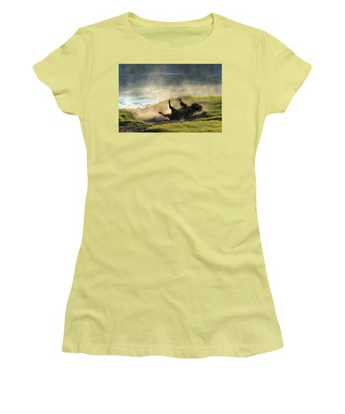 Rolling Women's T-Shirt (Athletic Fit)