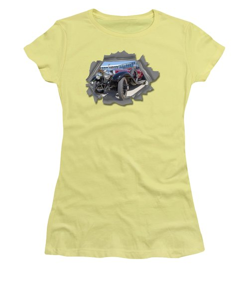 Rolls Out  T Shirt Women's T-Shirt (Junior Cut) by Larry Bishop