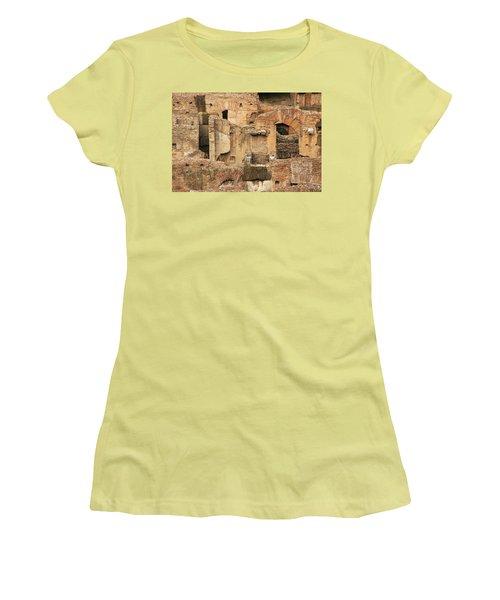 Roman Colosseum Women's T-Shirt (Junior Cut) by Silvia Bruno